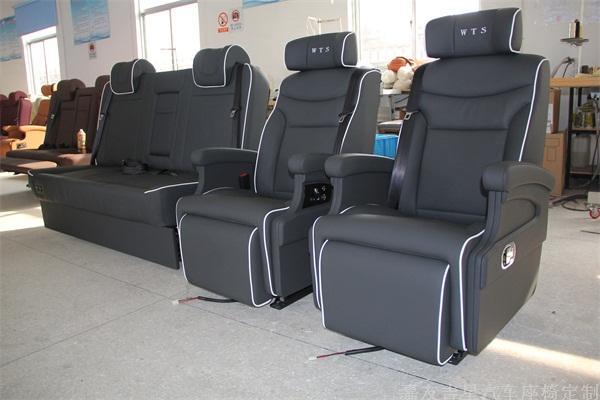 丰田海狮电动座椅改装
